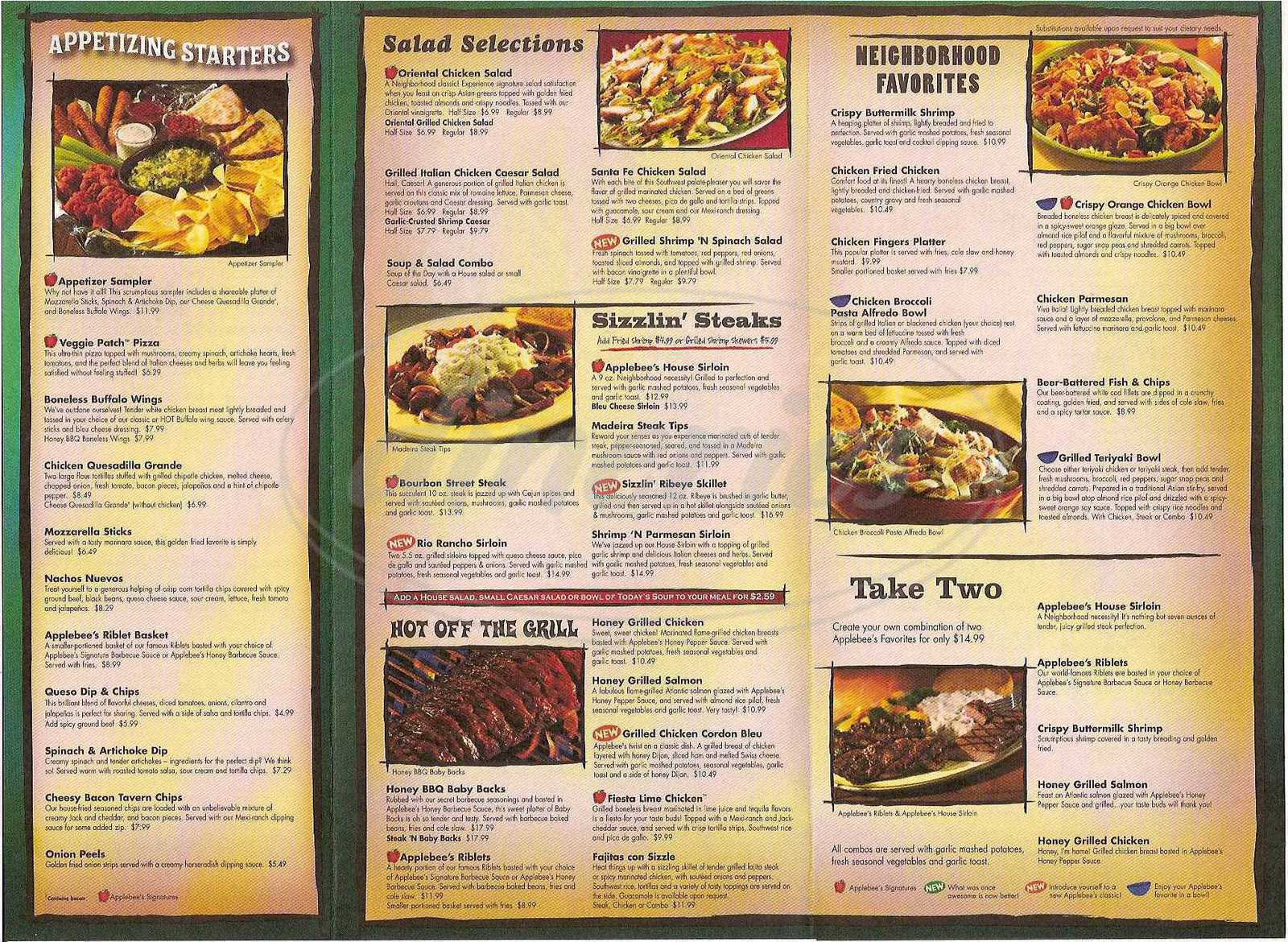 It is an image of Modest Applebee's Printable Menu Pdf