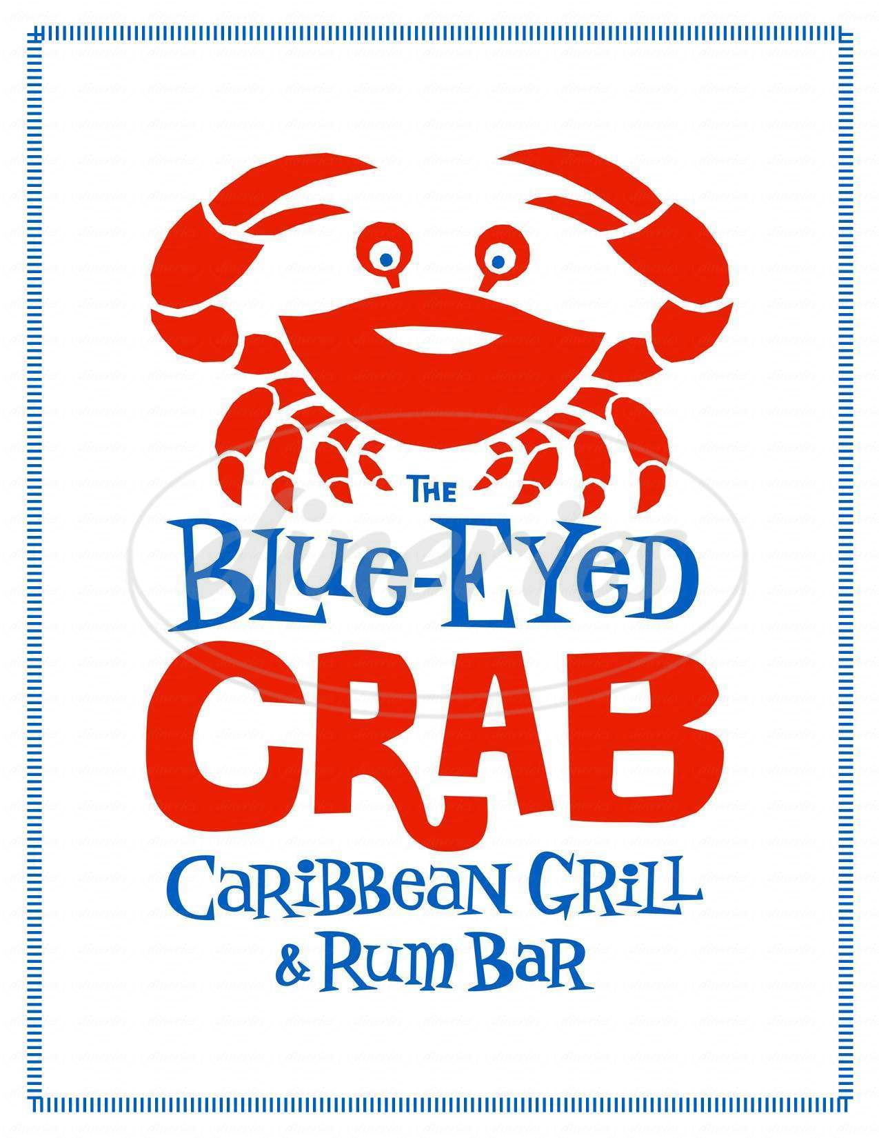 menu for Blue Eyed Crab Grille & Raw Bar