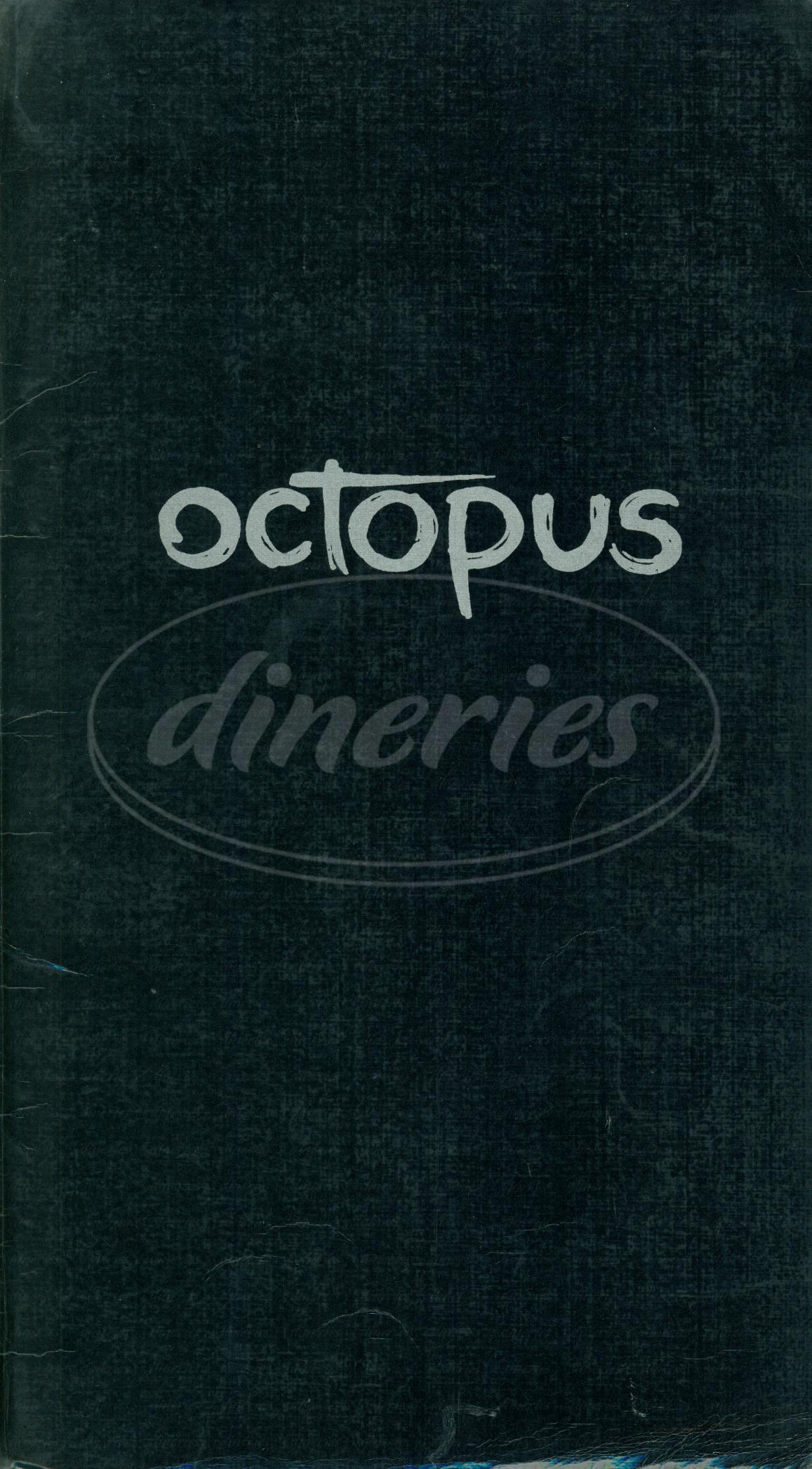 menu for Octopus