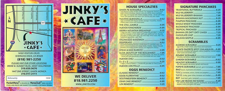 Jinky S Cafe Sherman Oaks Sherman Oaks Ca
