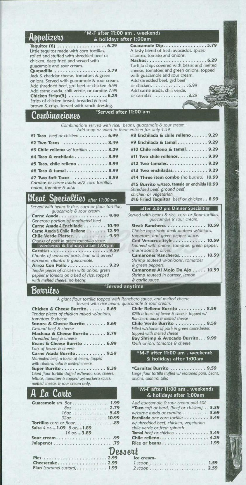 Mollie\'s Country Kitchen Menu - Laguna Niguel - Dineries