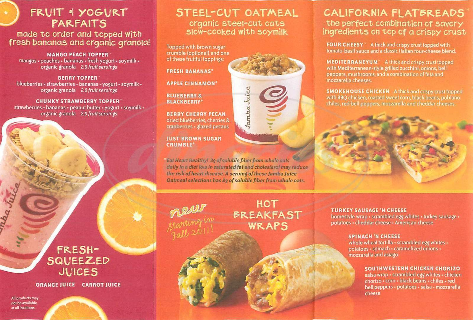long term objectives for jamba juice Jamba juice supports customers' weight management goals with fit 'n their new year's objectives, jamba juice® has a great long-term weight management by.