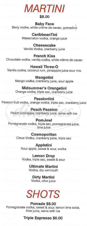menu for Got Sushi