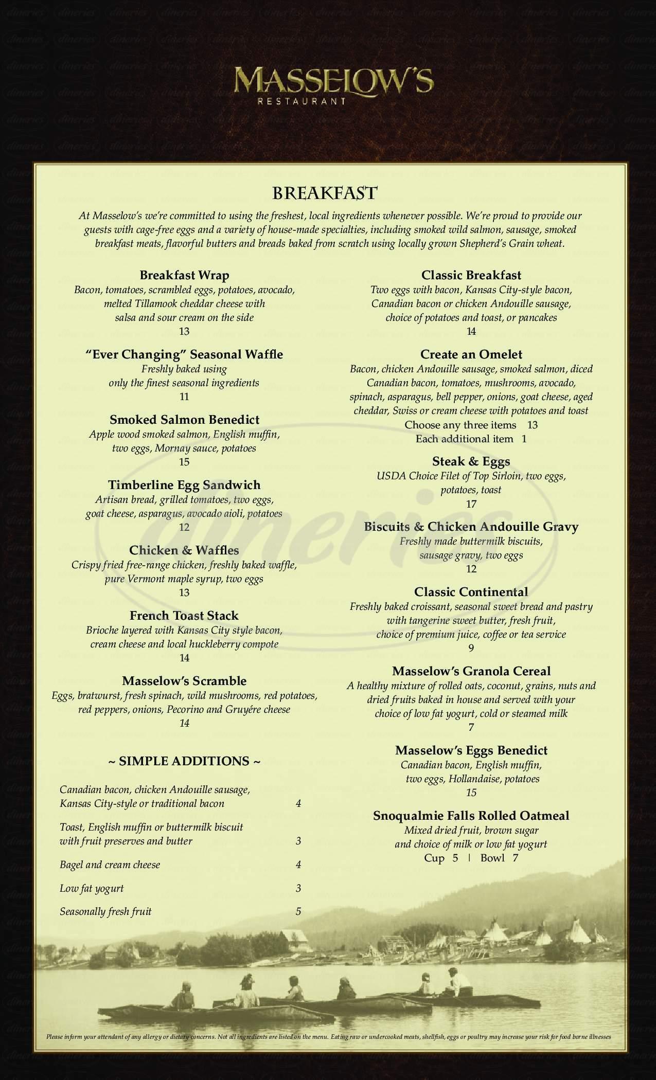 menu for Fatburger