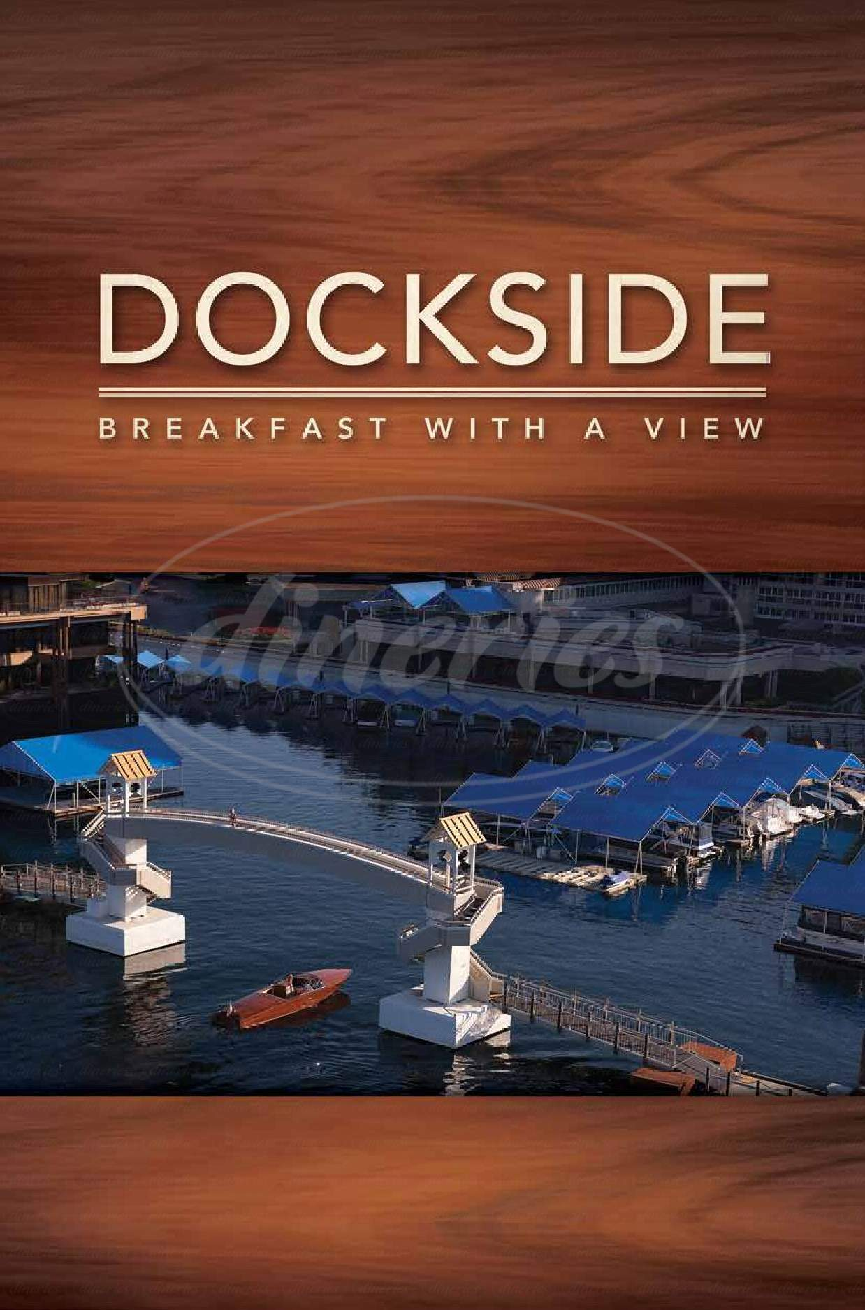 menu for Dockside