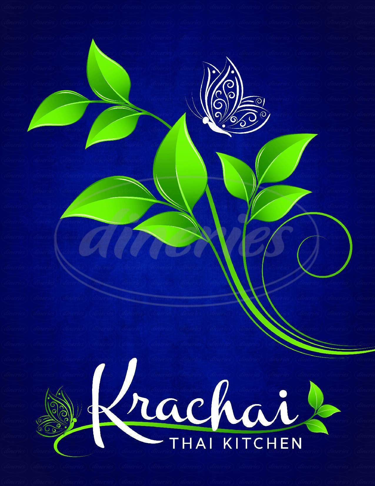 menu for Krachai Thai Kitchen