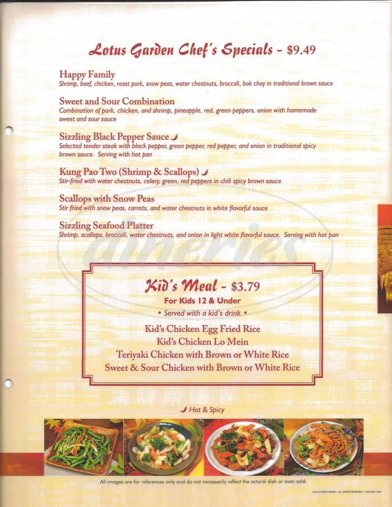 lotus garden menu apache junction dineries