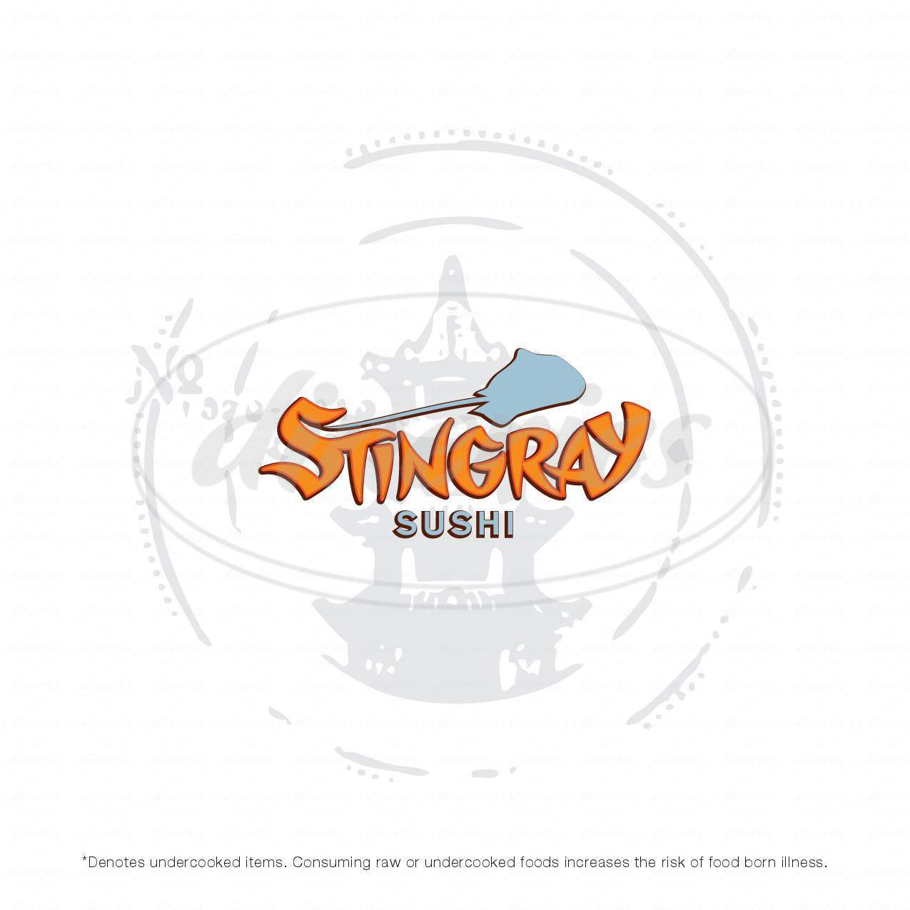 menu for Stingray Sushi