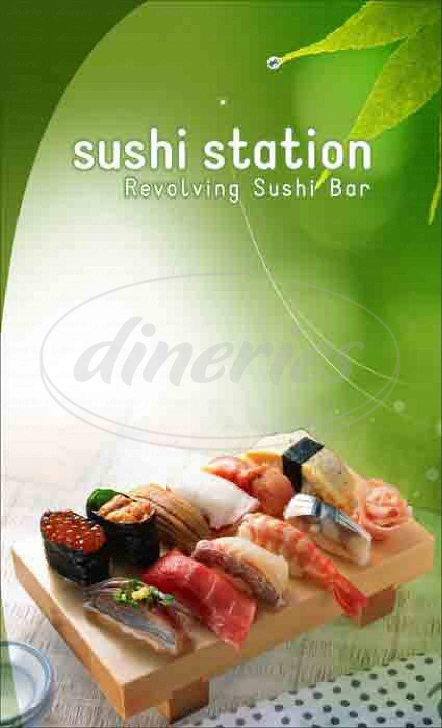 menu for Sushi Station