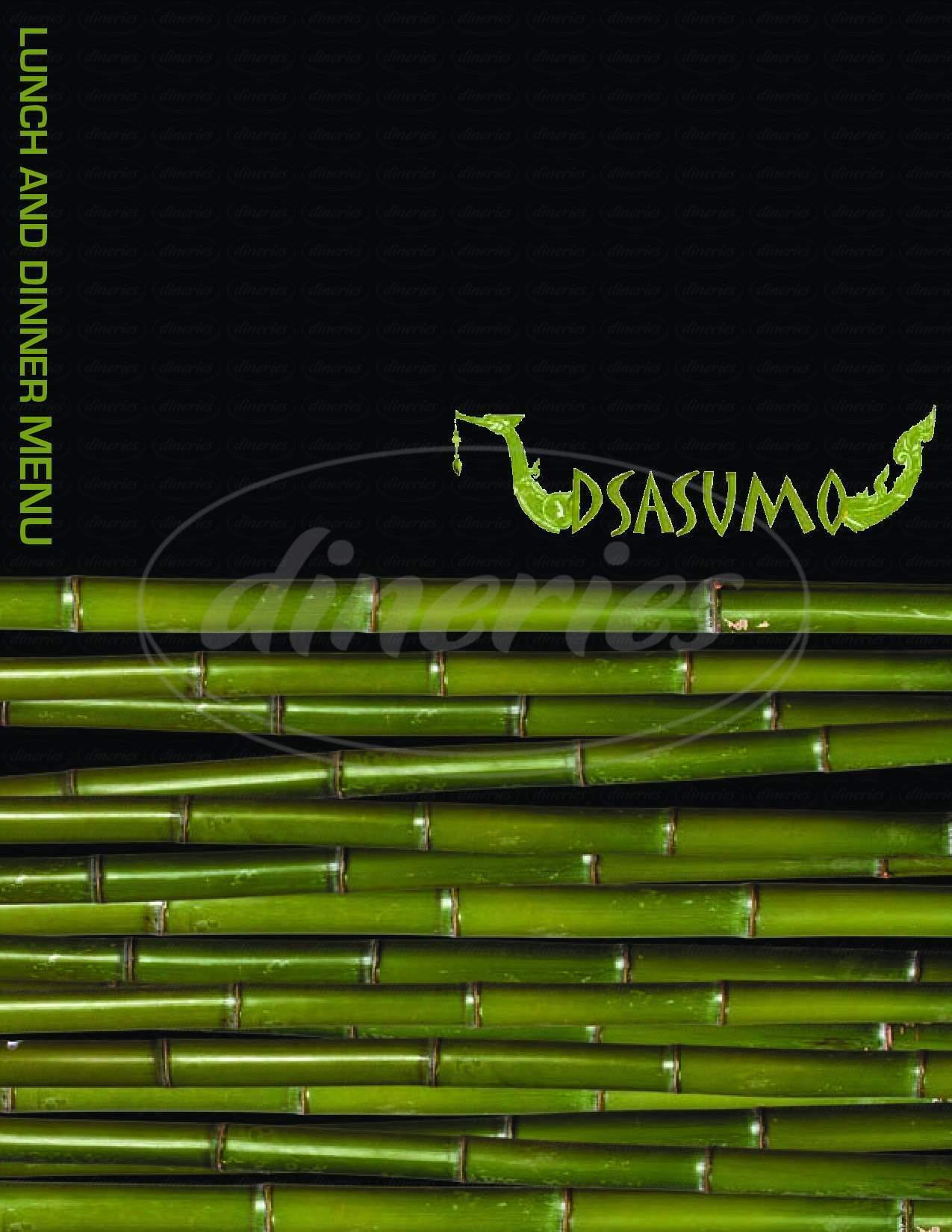 menu for Dsasumo