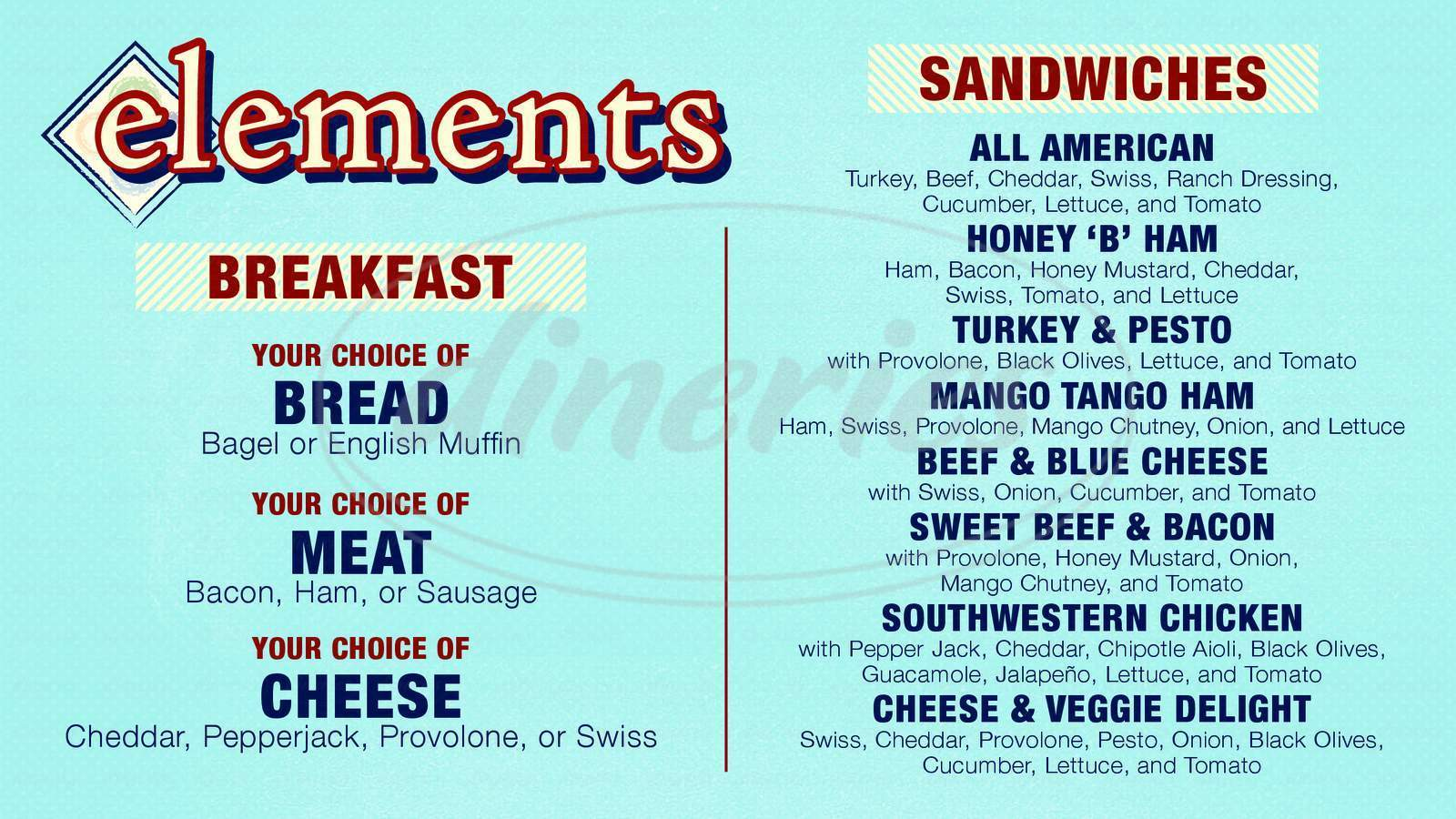 menu for Elements - Uw Classroom Building