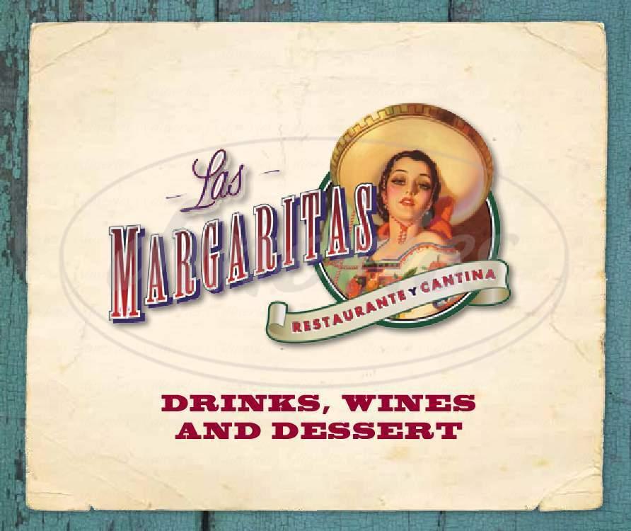 menu for Las Margaritas