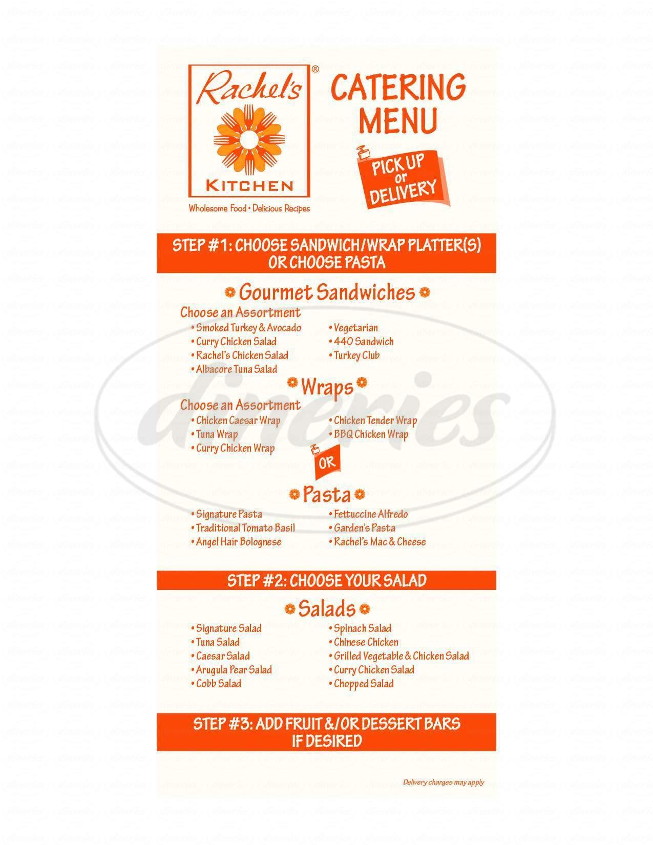 rachels kitchen big menu las vegas dineries - Rachels Kitchen Menu