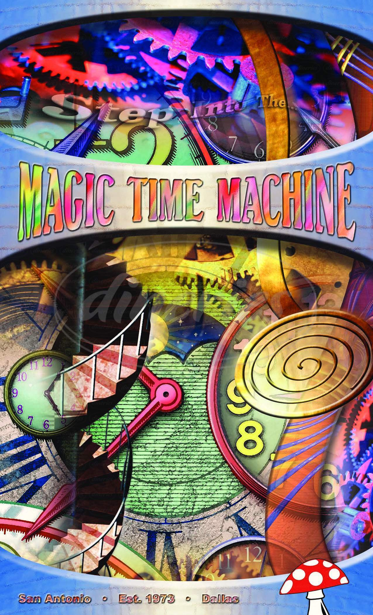 menu for Magic Time Machine