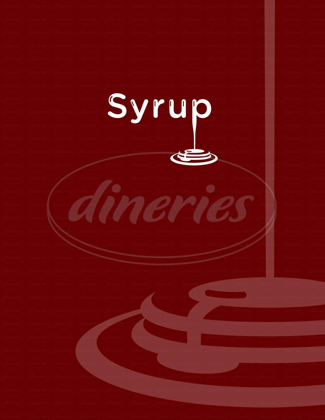 menu for Syrup