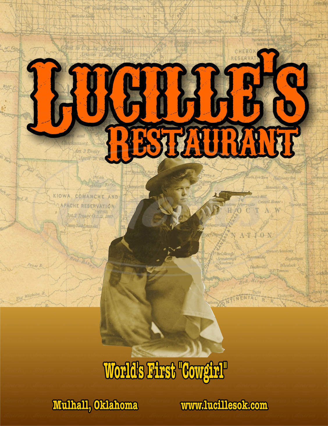 menu for Lucille's