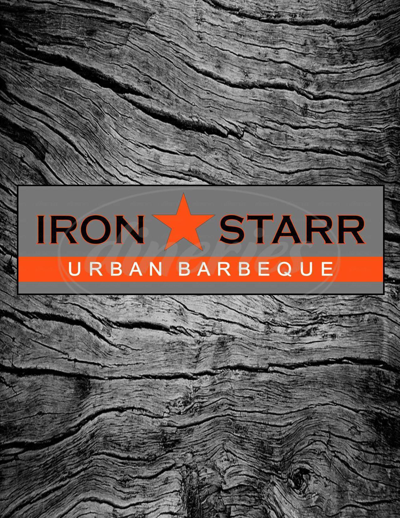 menu for Iron Starr