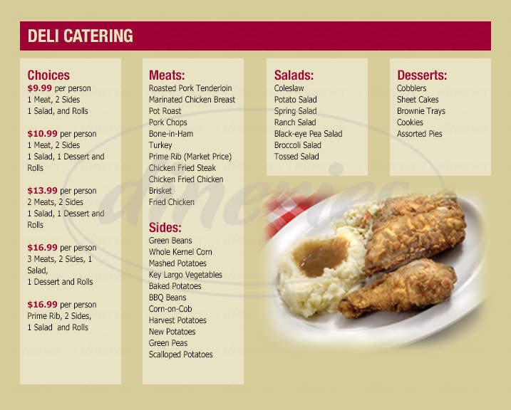 menu for Jumbo Foods