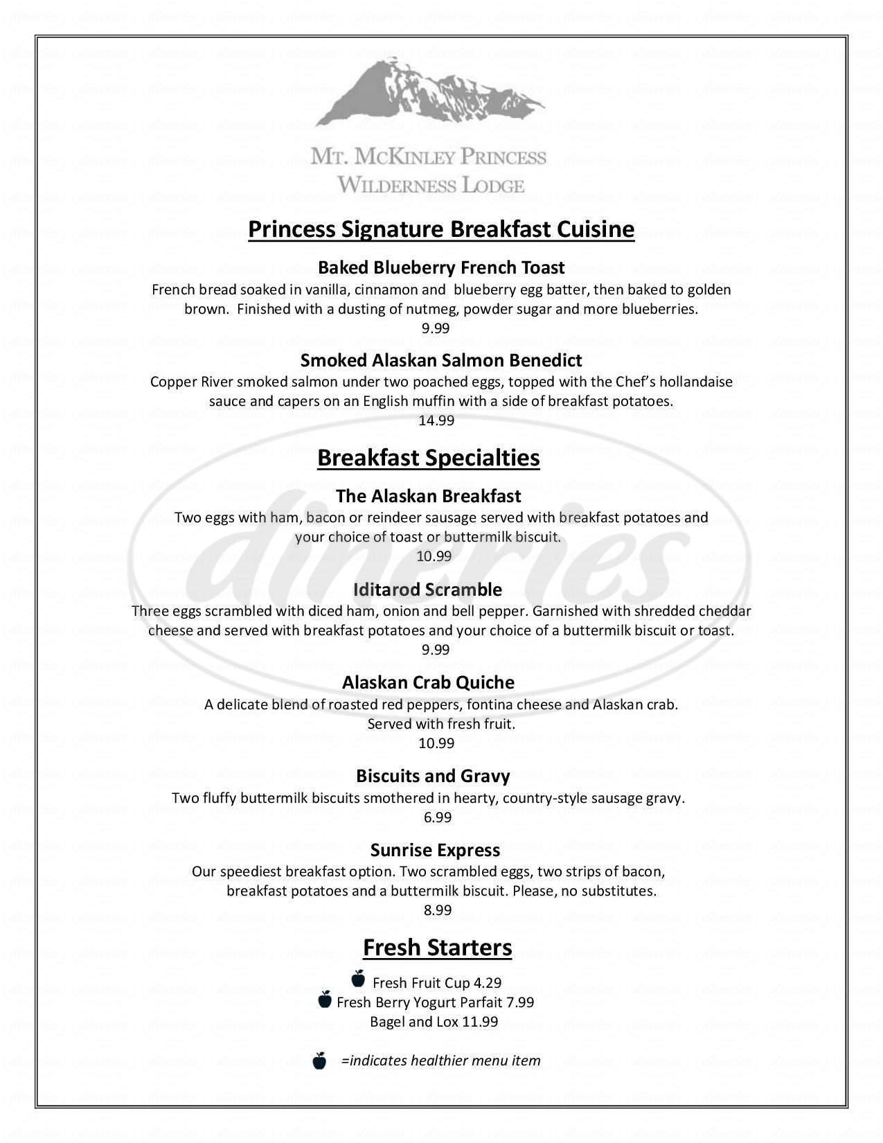 menu for 20320