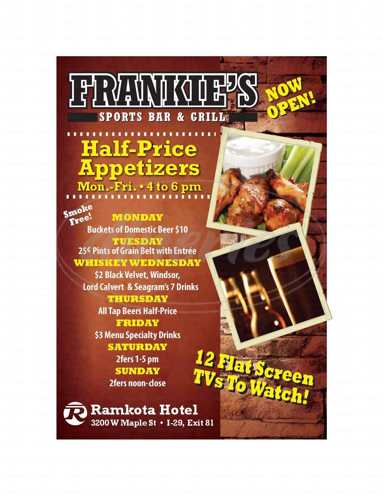 menu for Pimikan Room