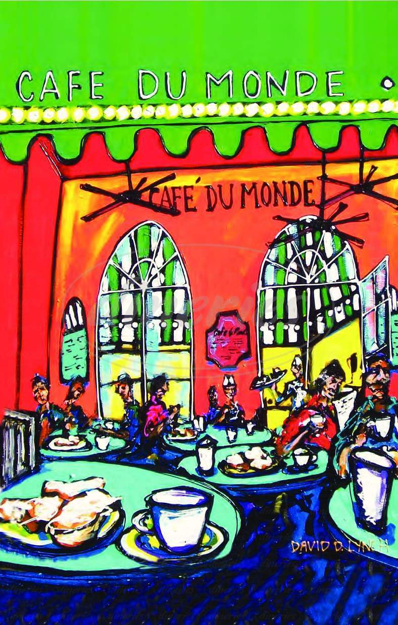 menu for Cafe Du Monde
