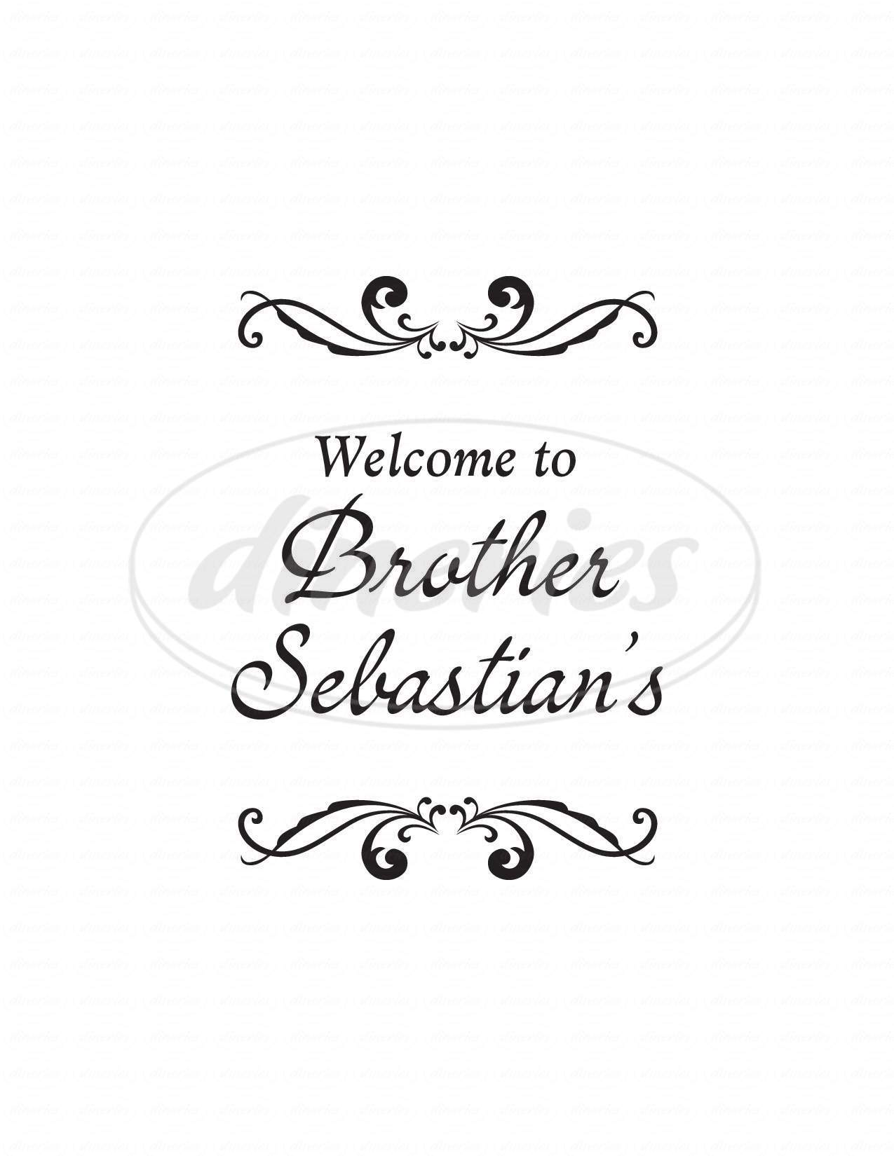 menu for Brother Sebastian's Steak House & Winery