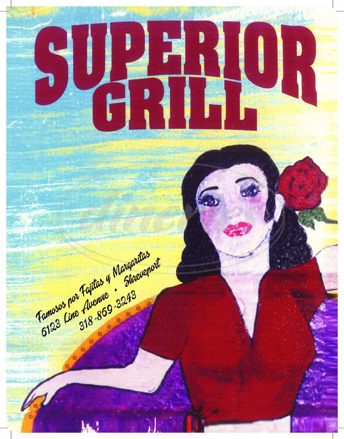menu for Superior Grill