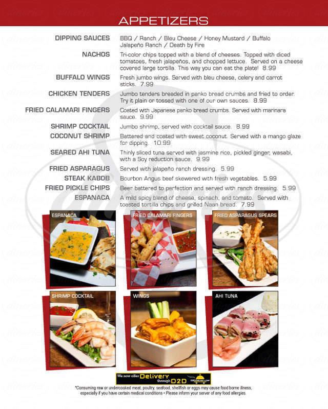 menu for Social 24