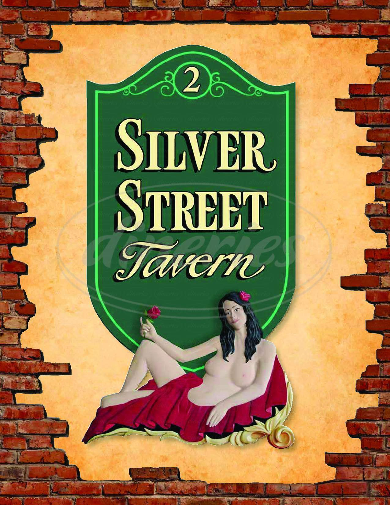 menu for Silver Street Tavern