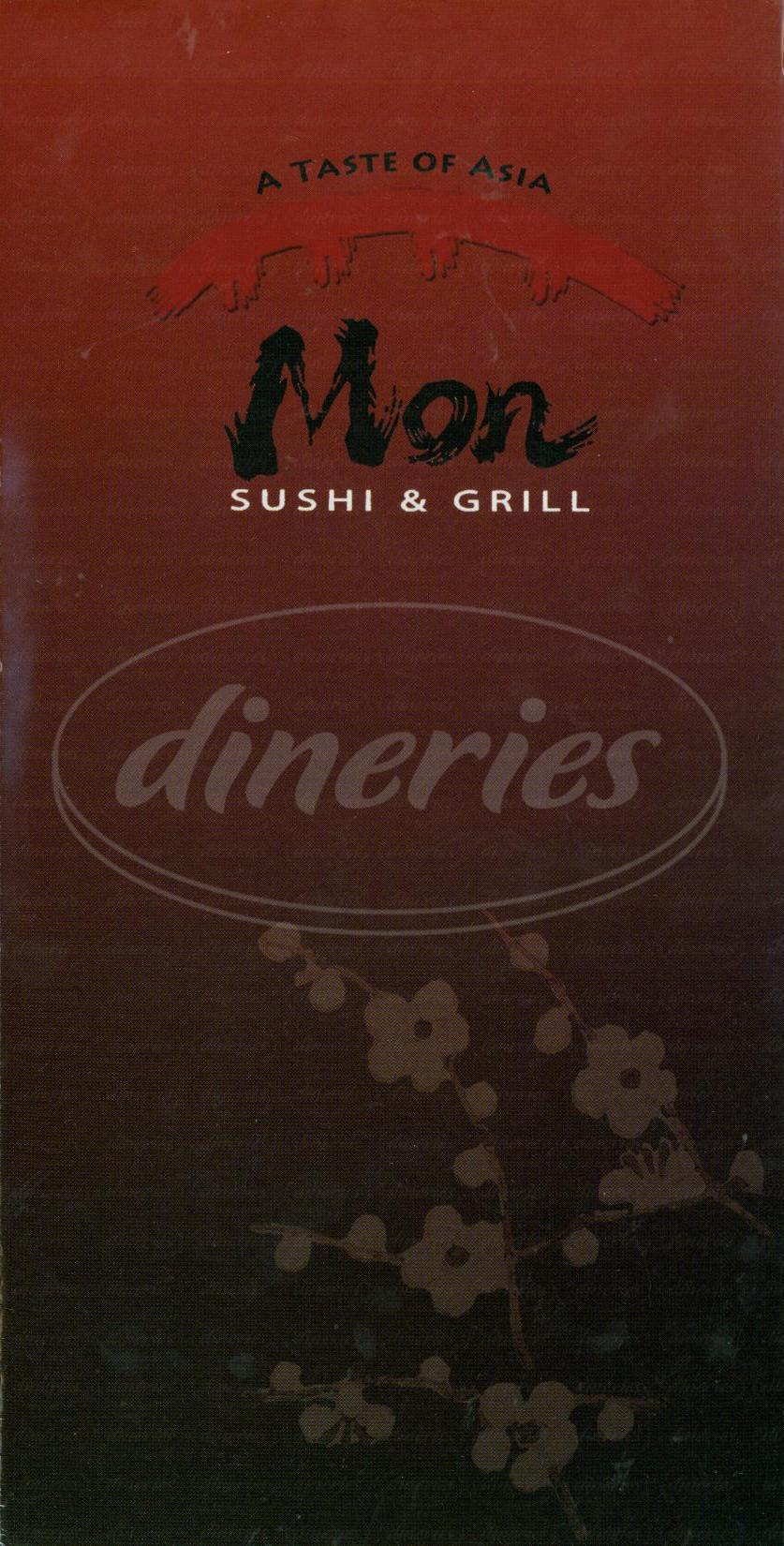 menu for Mon Sushi & Grill