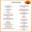 Arturo's Cantina thumbnail menu