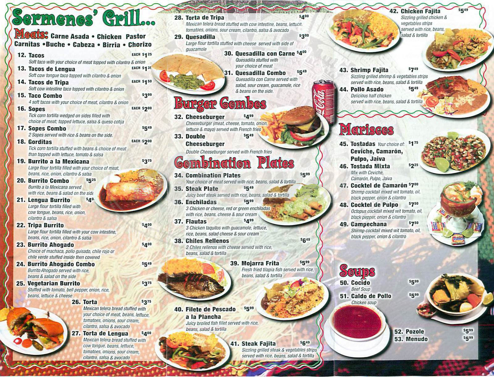 Menu For China S Best Restaurant