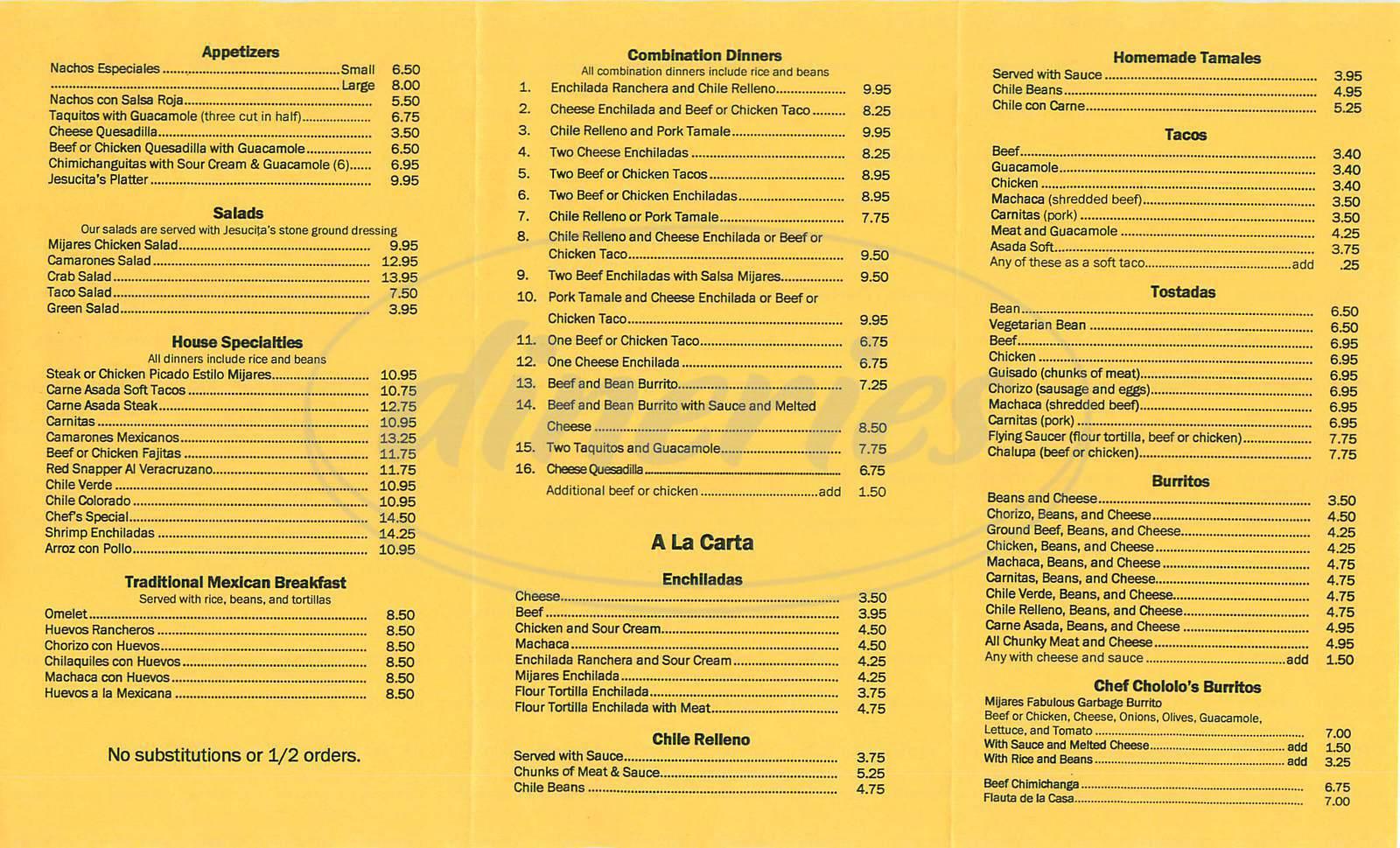 Mijares Mexican Restaurant Washington Blvd