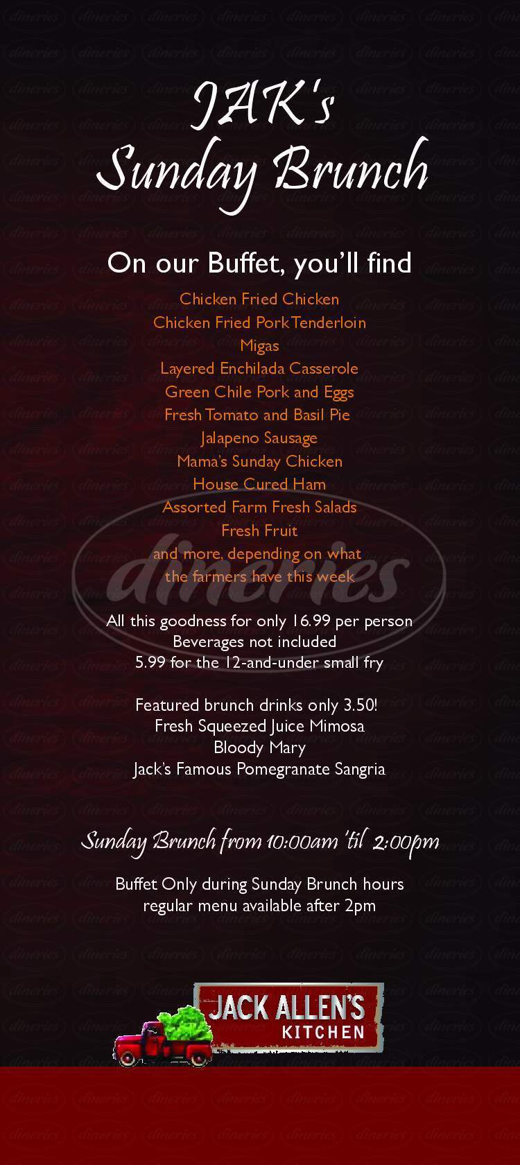 jack allen\'s kitchen menu Jack Allen's Kitchen Menu   Round Rock   Dineries jack allen\'s kitchen menu
