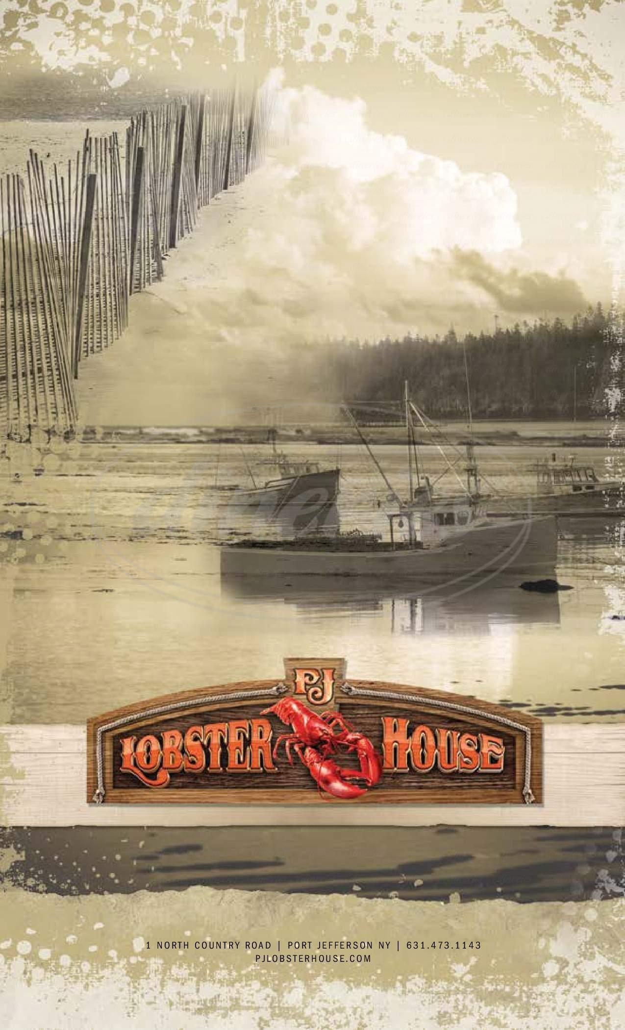Port Jeff Lobster House Menu - Port ...